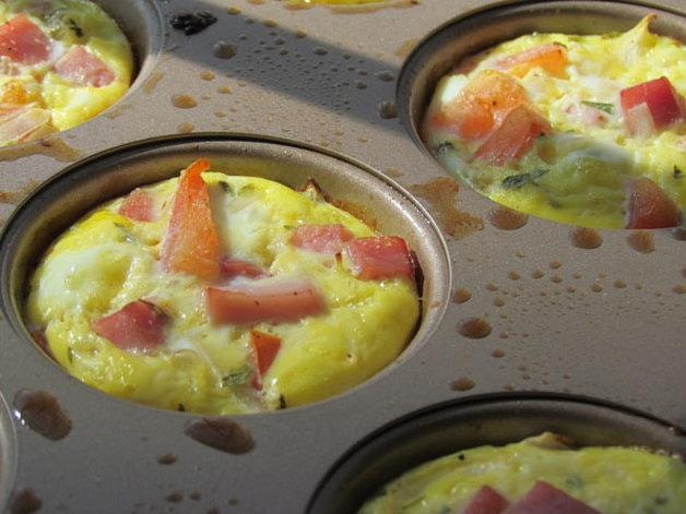 Power Breakfast Mini Quiches